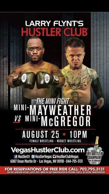 Mini-Mayweather vs Mini-McGregor, solo en Las Vegas