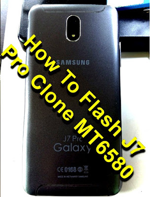 Guide To Flash J7 Pro Clone MT6580 Tested Firmware Via SP Flashtool