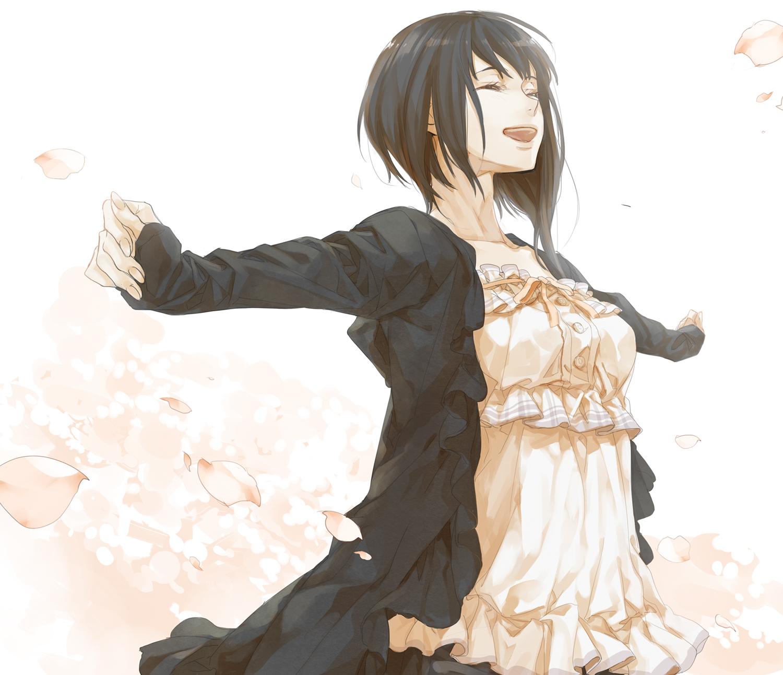 Short Black Hair Girl Anime  Short Hairstyles