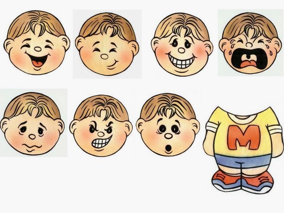 Rostros De Niños Animados: Caras De Emociones Animadas Triste. Elegant Imagen De La