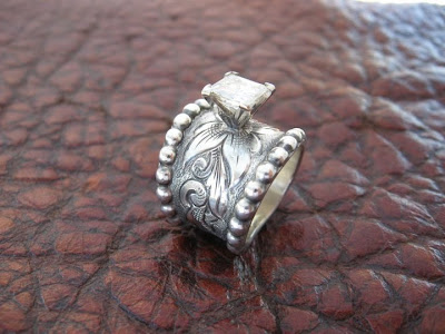 rodeo tales gypsy trails travis stringer western wedding rings more - Western Style Wedding Rings