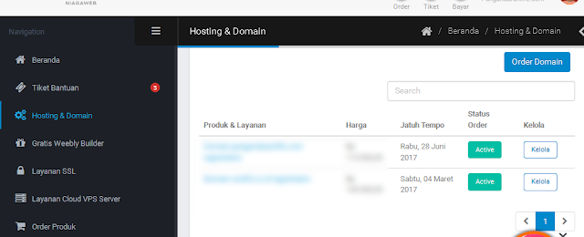 melihat tanggal kadaluarsa domain