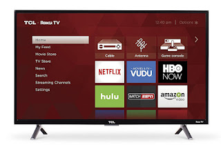 Led tv, television, TCL 32S305 32 720p Roku Smart LED TV 2017 Model