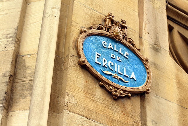 Calle de Ercilla in Bilbao, Spain - London travel blog