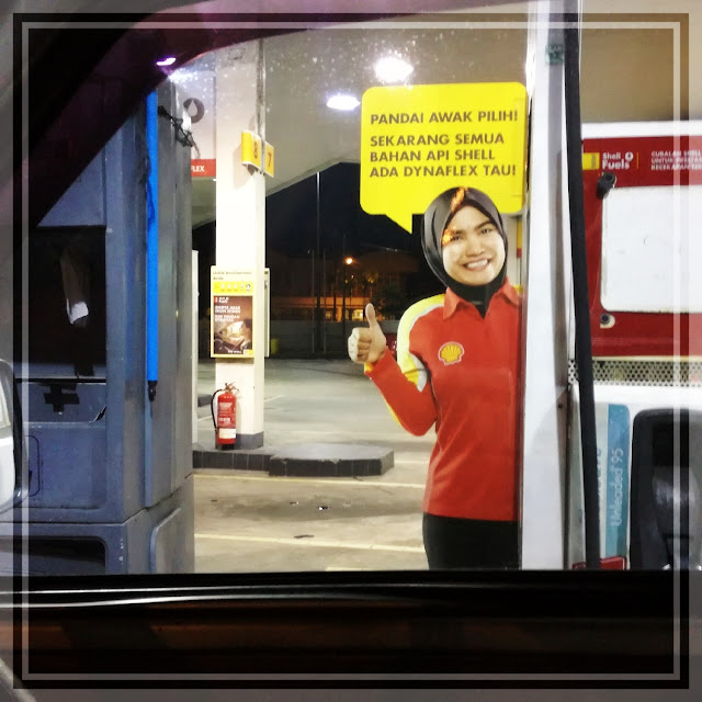Hakak Shell buat kejutan ^^