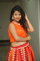 Shubhangi Bant in Orange Lehenga Choli Stunning Beauty ~  Exclusive Celebrities Galleries 047.JPG