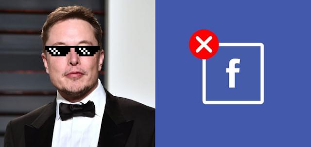 الملياردير إيلون مسك  Elon Musk يحذف صفحة Telsa & Space على الفيسبوك | #DeleteFacebook
