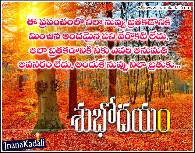 Telugu Top and Nice Famous Good Morning Quotes with Pictures online, Top Telugu Good morning Daily Thoughts with Pictures, Telugu Girl Good Morning Messages Pics, Telugu Feelings quotes, Telugu Subhodayam Kavithalu, Telugu Trending Good Morning messages and Images, Awesome Telugu Good Morning Messages and SMS.