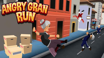 Angry Gran Run (Mod Money) v1.21 Apk Unlimited coin