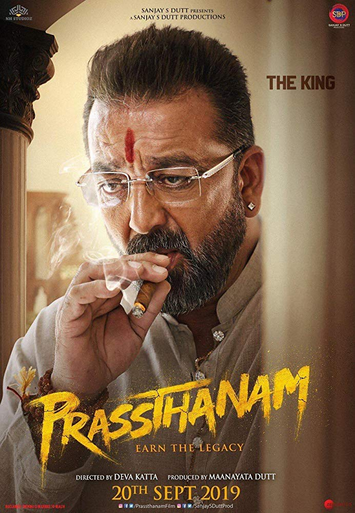 Prassthanam 2019 Hindi Movie 720p DVDScr 1.2GB