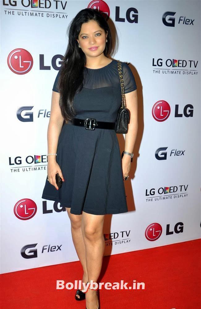 Arzoo Govitrikar, Celebs at LG G Flex Smartphone Launch
