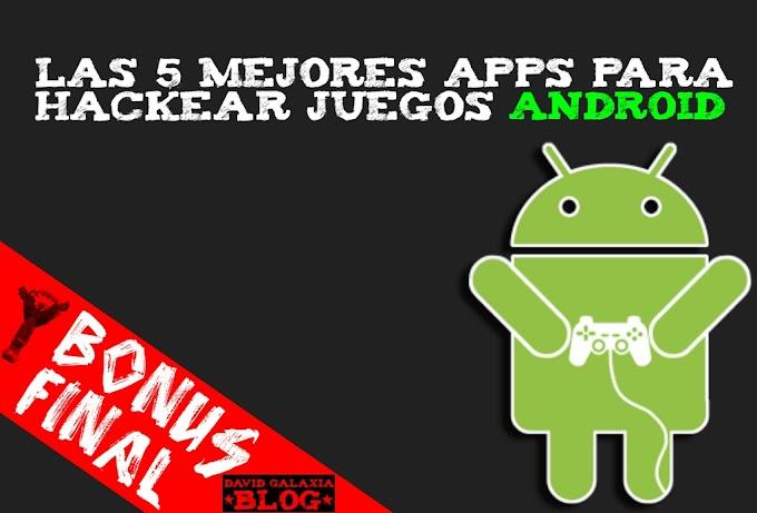 Las 5 mejores apps para hackear juegos android.