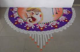 Simple Rangoli Designs Images