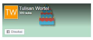 fanspage tulisan wortel