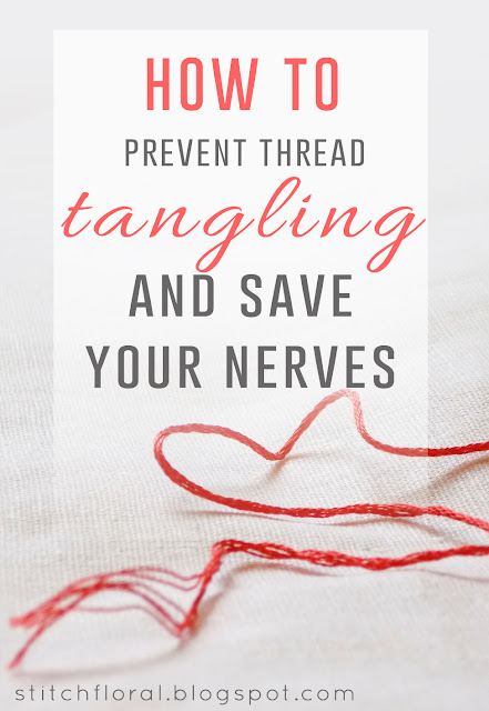 How to prevent thread tangling