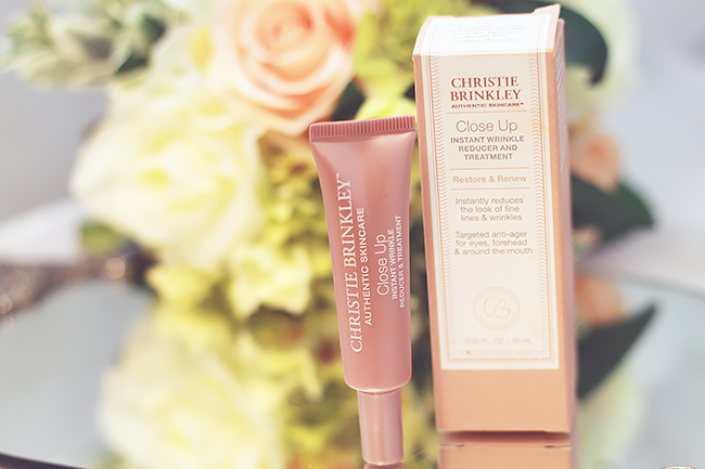 Christie Brinkley Skincare Close Up Wrinkle Treatment Review