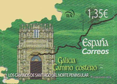 Sello Galicia, Camino de Santiago del Norte
