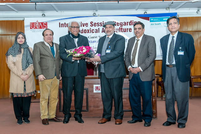 UVAS organises awareness seminar on Paradoxical Agriculture.