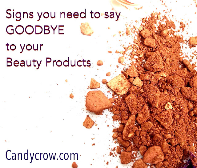 Signs you need to say Goodbye to your beauty products: