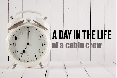 day in life of a cabin crew