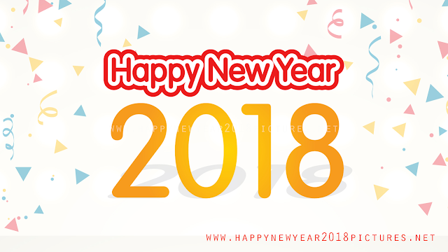 new year 2018 greeting cards images