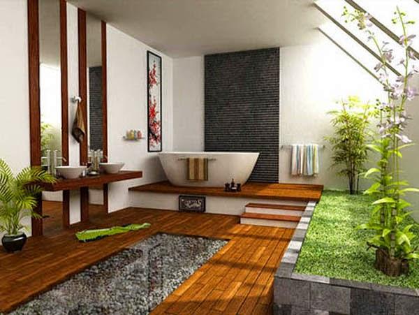 Baño estilo Feng Shui