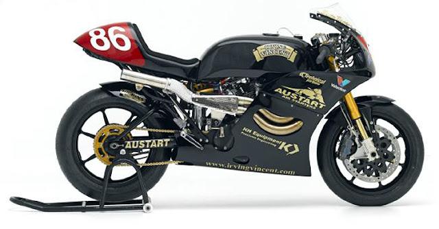 Irving Vincent Motorcycle Daytona Battle of Twins