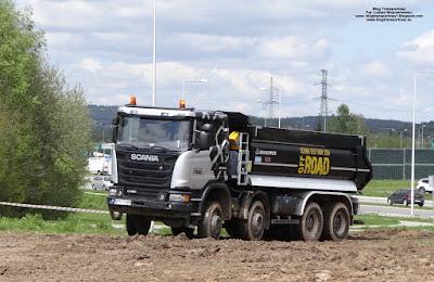 Scania G450, KH-KIPPER, AUTOSTRADA-POLSKA