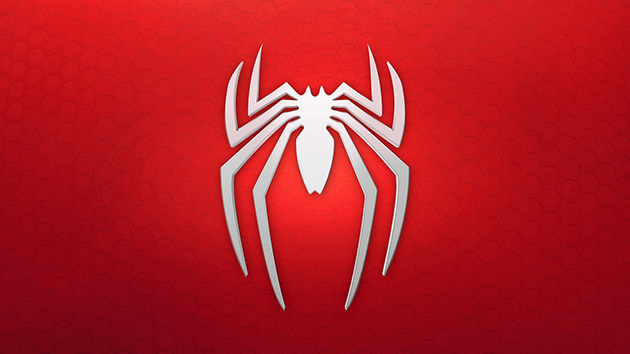 spiderman logo for insomniac games