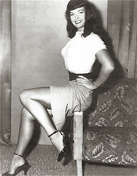 Betty Page Photos: Vintage: Secrets & Thigh-Highs: Vintage Style Tribe: Pin