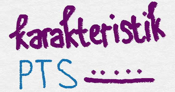 Apa saja karakteristik PTS (Penelitian Tindakan Sekolah) yang khas dan membedakannya dari penelitian seperti PTk atau penelitian lain?
