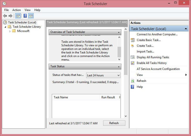Cara Menggunakan Task Schedule
