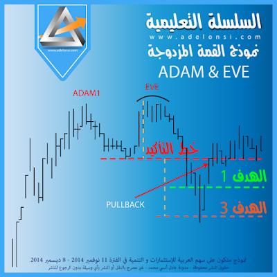 الشكل الثاني من نموذج القمة المزدوجة ADAM & EVE