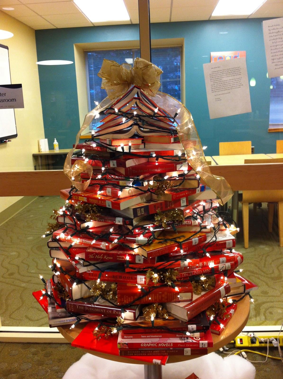 Celebrating The Holidays Library Style