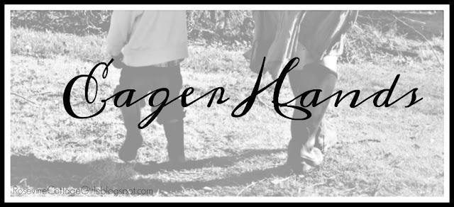 Eager Hands, Helping Hands, (C) Rosevine Cottage Girls
