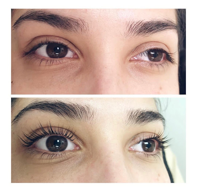 Lashed You Out | Before & After | Lash Lift