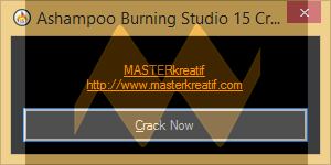 Ashampoo Burning Studio 15 Crack