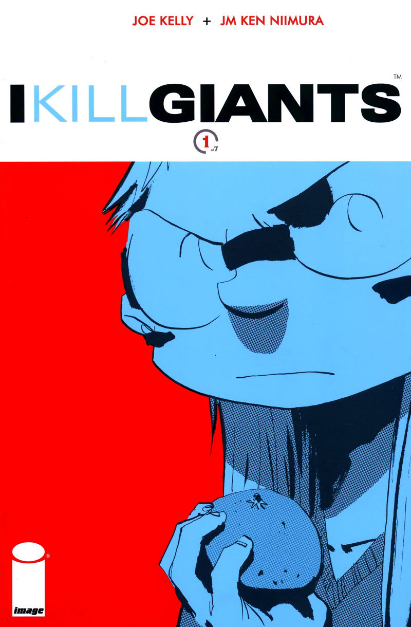 Cover page of chapter 1 of I Kill Giants comic online