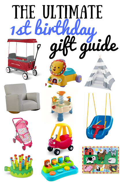 The ultimate first birthday gift guide. The best birthday gifts are the ones that they'll love for years and years. Perfect list of 1st birthday gift ideas that your baby will love.