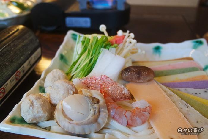 assiette de mochi shabu