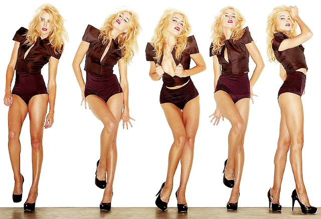 Amber Heard Sexy Legs