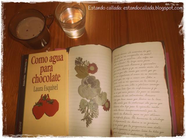 agua, chocolate, Laura Esquivel