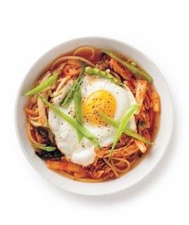 Kimchi Chicken Noodle Soupi