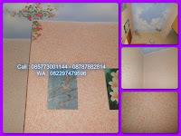 Percantik tampilan dinding dengan cat wash