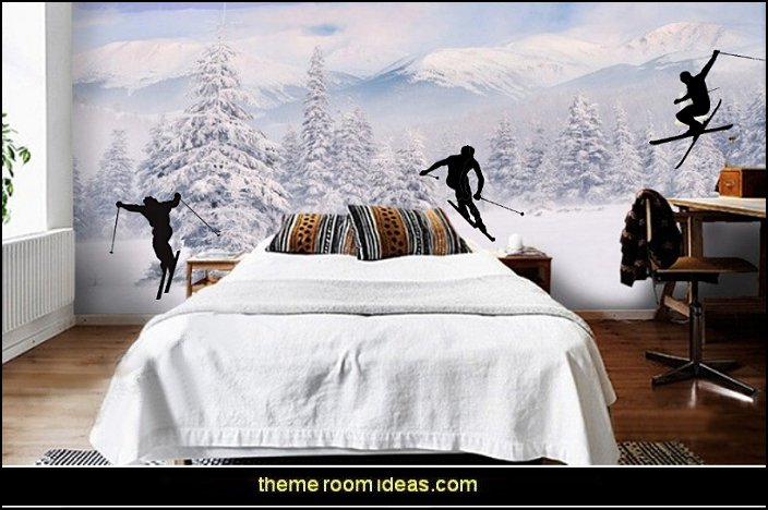 Decorating theme bedrooms - Maries Manor: Ski cabin decorating - ski ...