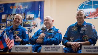 Ricky Arnold, Oleg Artemyev, Andrew Feustel