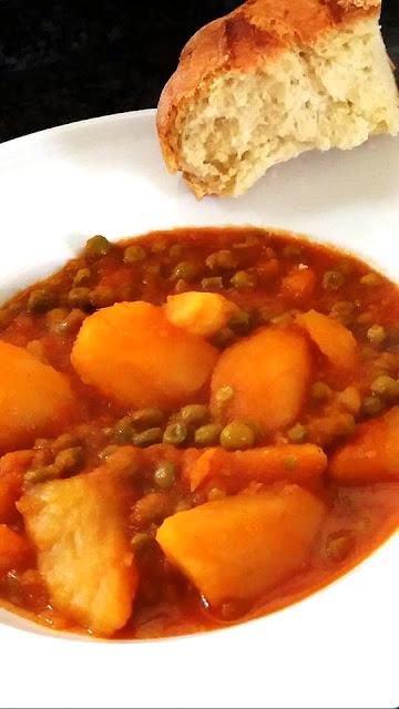 """Arakas latheros"" Peas, Greek-style"