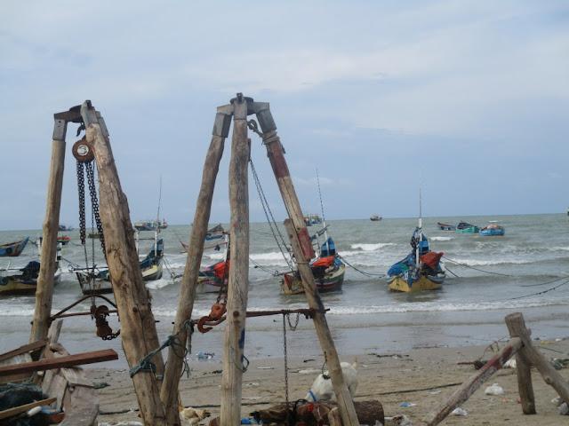 kampung nelayan Sarang