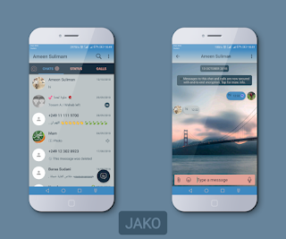 Bridge Theme For YOWhatsApp & Fouad WhatsApp By Jako