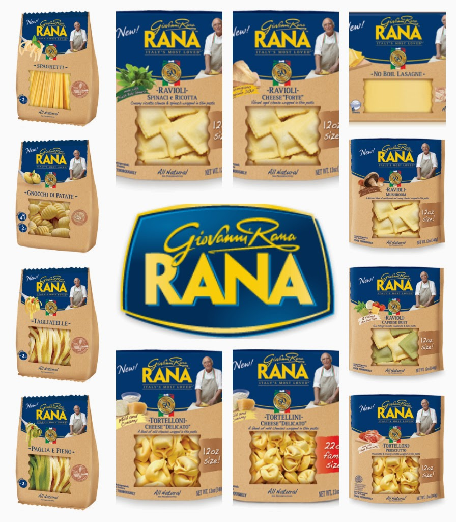 Fresh Pasta & Sauces from Giovanni Rana! + Giveaway